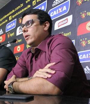 Alexandre Faria Rodrigo Barros Sport (Foto: Aldo Carneiro / Pernambuco Press)