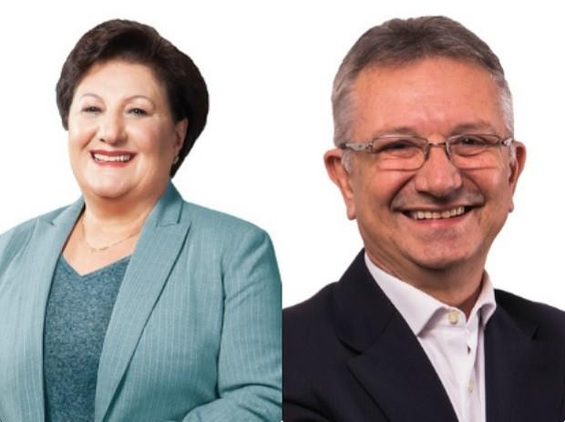 Candidatos de Canoas (RS) participam de debate no G1 (Foto: Montagem sobre fotos/Divulgação)
