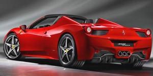 Ferrari 458 Spider (Foto: Divulgação)