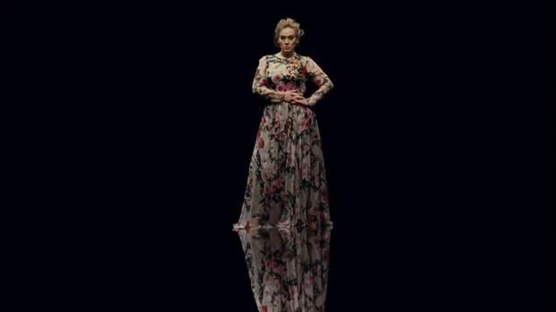 Adele lana trecho de novo clipe, 'Send My Love (To Your New Lover) (Foto: Reproduo/Instagram)