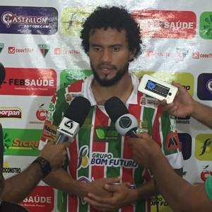 Geílson, atacante Operário VG (Foto: Fábio Felipe / Operário VG)