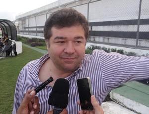 Jotinha Alexandre, presidente do ASA (Foto: Leonardo Freire/GLOBOESPORTE.COM)