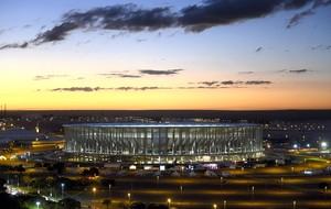 estádio Mané Garrincha Copa do Mundo (Foto: EFE)