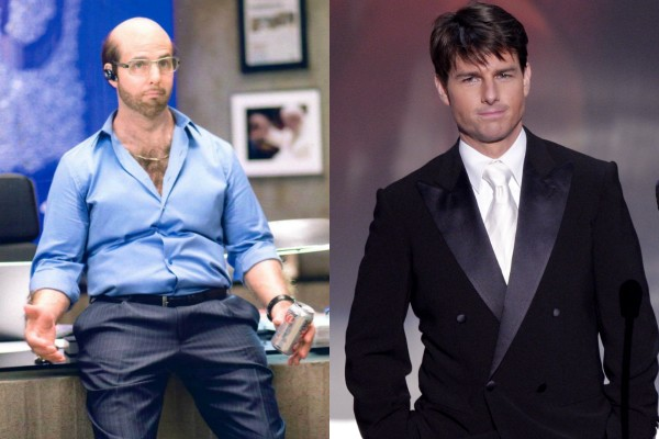 Tom Cruise como Les Grossman (Foto: Reprodução/Getty Images)