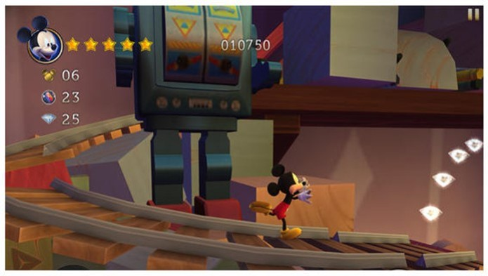 CASTLE OF ILLUSION: STARRING MICKEY MOUSE (Foto: Reprodução)