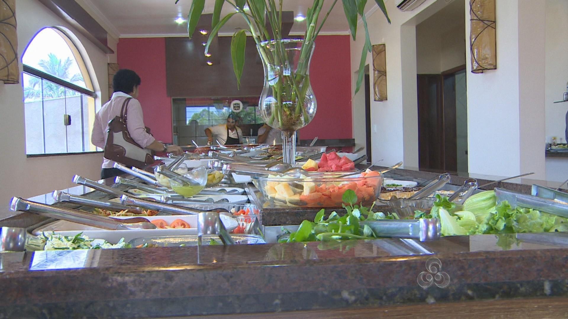 Mesmo com o alto preço, o consumidor não abre mão dos restaurantes (Foto: Rondônia TV)