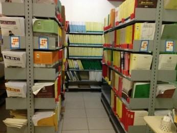 São mais de 1,4 mil livros em Braile à disposição da população rondoniense. (Foto: Flaviane Azambuja/G1)