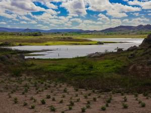 Açude Totoró, em Currais Novos, é um dos pontos turísticos da região do Seridó potiguar  (Foto: Wallacy Medeiros)