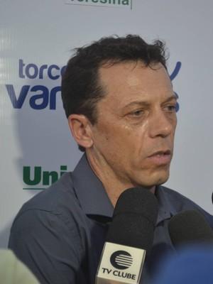 Fernando Tonet, técnico do Parnahyba  (Foto: Didupaparazzo )