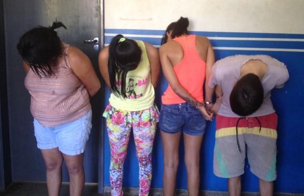 Polícia prendeu suspeito de matar segurança do cantor Leonardo, em Goiânia, Goiás (Foto: Táliton Andrade/G1)