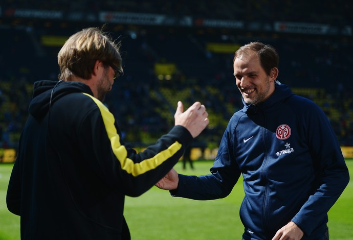 Thomas Tuchel vai substituir Jürgen Klopp no comando do Borussia Dortmund (Foto: Getty Images)