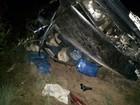 Jovem morre em RR após carro com gasolina ilegal capotar na BR-174