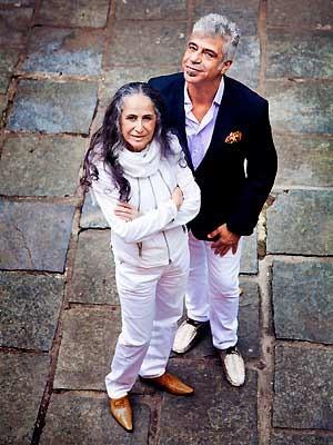Maria Bethânia e Lulu Santos, atrações do Circuito Cultural Banco do Brasil (Foto: Divulgação)