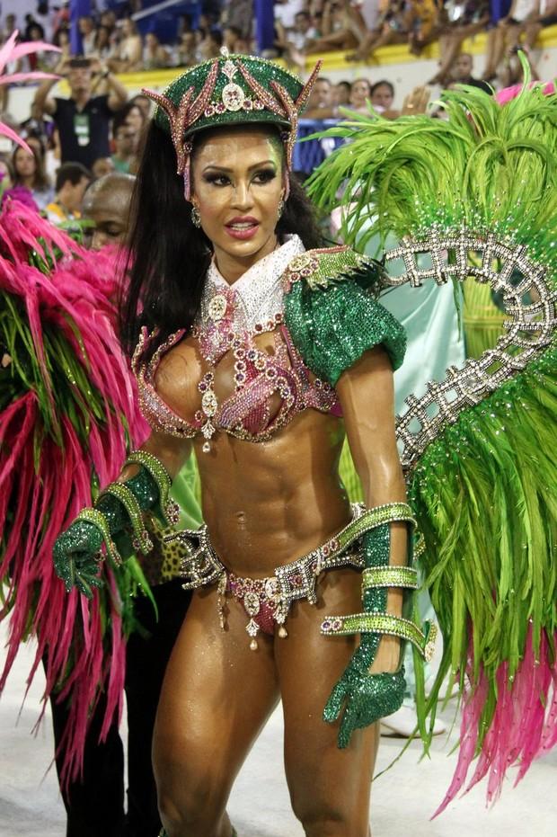 Gracyanne Barbosa (Foto: Marcos Ferreira/Fotorio News)