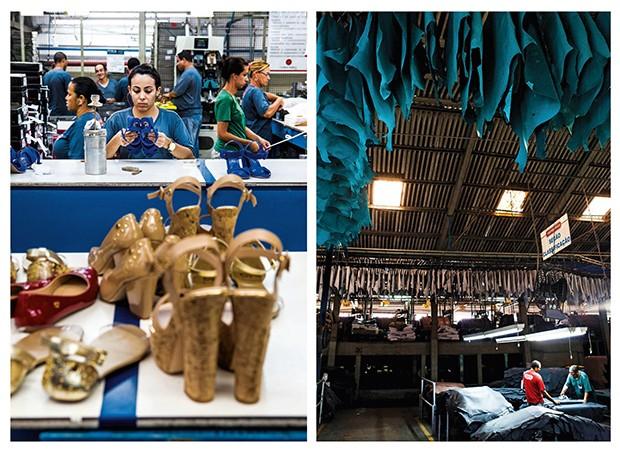 Empresa;Consumo;Moda;Carmen Steffens;Sandálias;Produção;Fábrica;Curtume;CS (Foto: Divulgação)