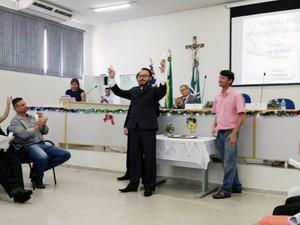 Luccas Inague Rodrigues é médico e tem 33 anos (Foto: Heloise Hamada/G1)