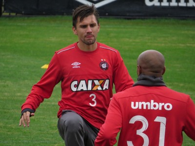Paulo André Atlético-PR (Foto: Fernando Freire)