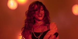 Rihanna faz show 'sóbrio' e preciso com grande voz (Luciano Oliveira/G1)