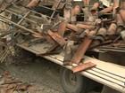 Caminhão invade casa e deixa dois mortos em Salvador