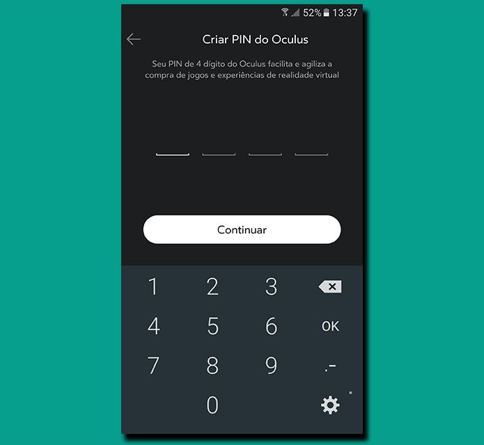 PIN aumenta segurança e facilita processo de autenticação de compras na Oculus Store (Foto: Reprodução/Filipe Garrett)