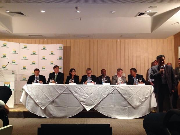 Evento é realizado na sede da Petrobras (Foto: Mariane Rossi / G1)