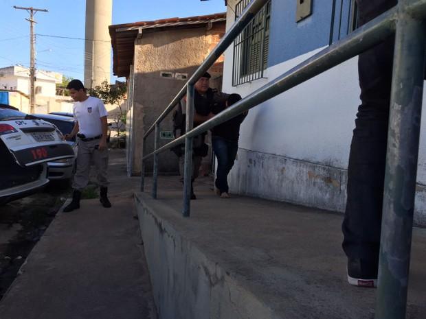 Milton Omena Neto assume que discutiu com avô, mas nega assassinato (Foto: Roberta Cólen/G1)