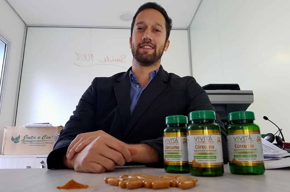 André Edelstein, da Vivitá Suplementos (Foto: Divulgação)