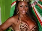 Rainha de bateria do bumbum 'absurdo' é coroada com festa no Rio
