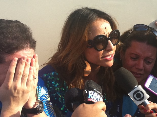 Sabrina Sato dá entrevista após a vitória: 'A voz do povo é a voz de Deus', disse (Foto: G1)