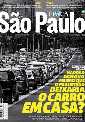 Capa da edição 67 da revista Época SP (Foto: epoca sp)