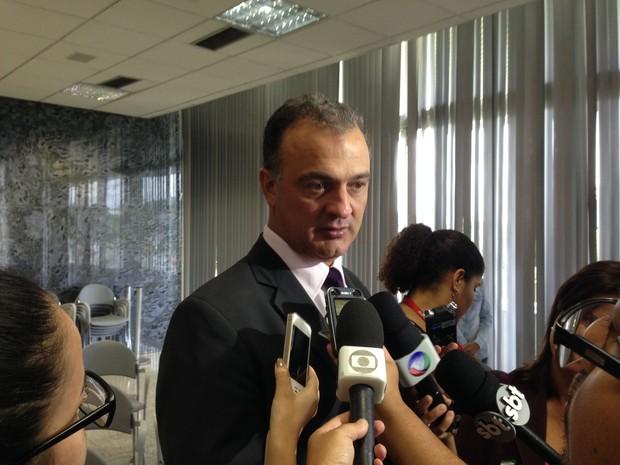 Diretor-geral da Polícia Civil, Eric Seba (Foto: Gabriel Luiz/G1)