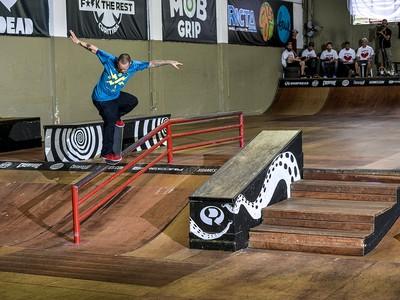 Curitiba recebe a etapa do brasileiro de Skate (Foto: Pablo Vaz/Divulgação)
