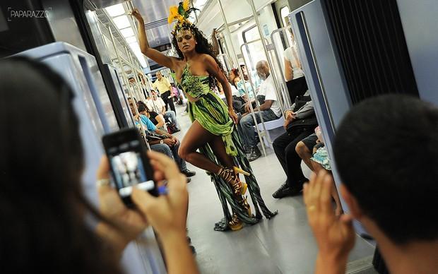 Making of Quitéria Chagas posa para o Paparazzo (Foto: Luciana Tancredo / Paparazzo)