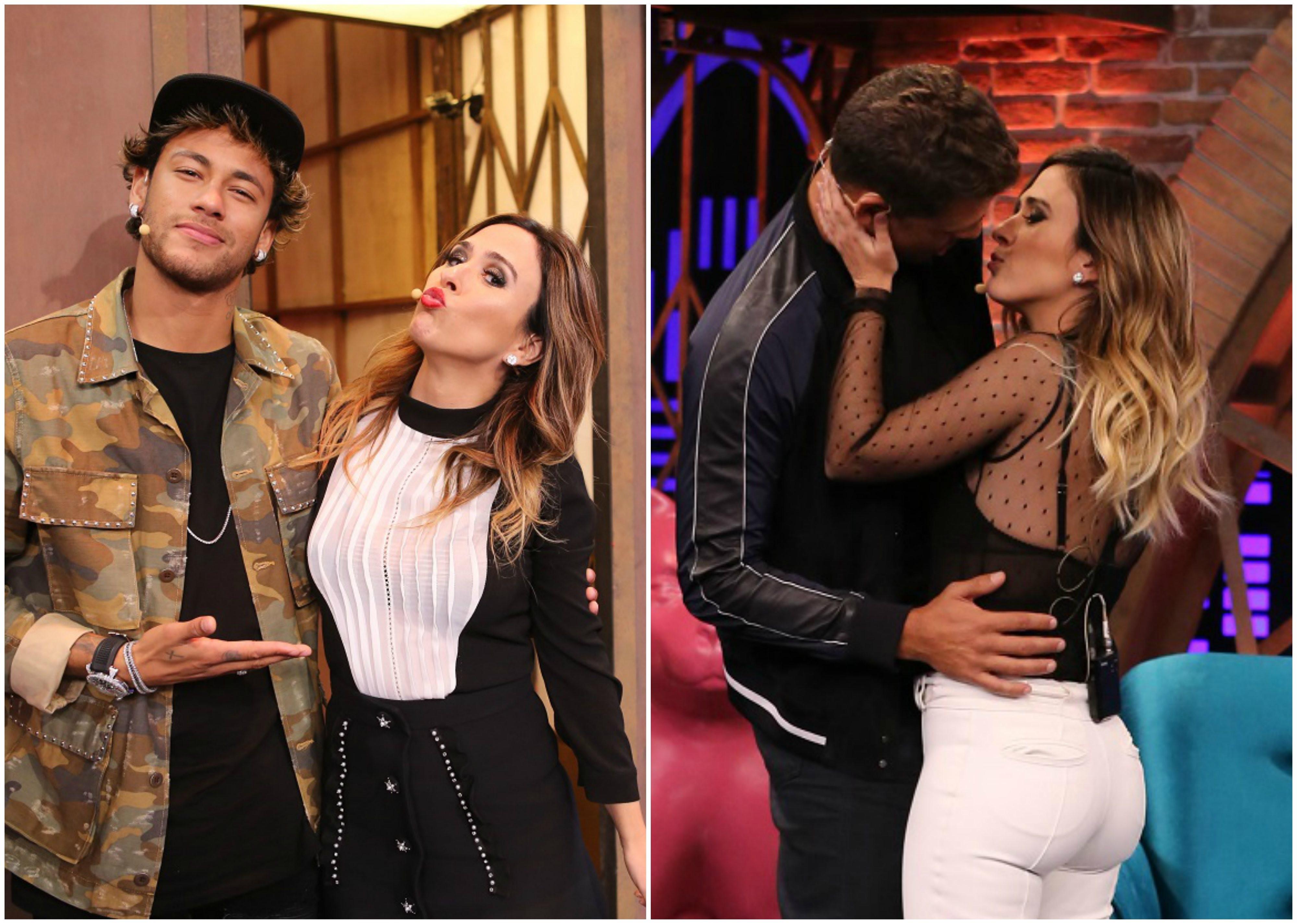 Neymar e Cau so os dois primeiros convidados da nova temporada de Lady Night (Foto: Gianne Carvalho/Multishow)