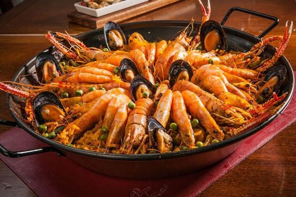 Paella: um prato típico espanhol (Foto: Divulgação)