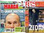 """Jornais de Madri põem Real diante de crise após eliminação: """"Nuvem negra"""""""