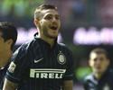 """Inter arrasa Sassuolo, e Icardi ofusca Maxi López em """"dia argentino"""" na Itália"""