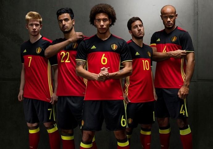 BLOG: Líder do ranking da Fifa, Bélgica lança novo uniforme para Eurocopa de 2016