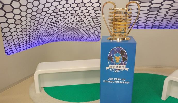 Taça da copa do Nordeste em João Pessoa (Foto: Larissa Keren / GloboEsporte.com)