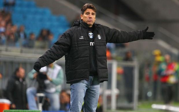Renato Gaúcho Grêmio x Santos (Foto: Lucas Uebel / Grêmio)