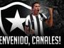 O 9 chegou! Botafogo oficializa contratação de Gustavo Canales