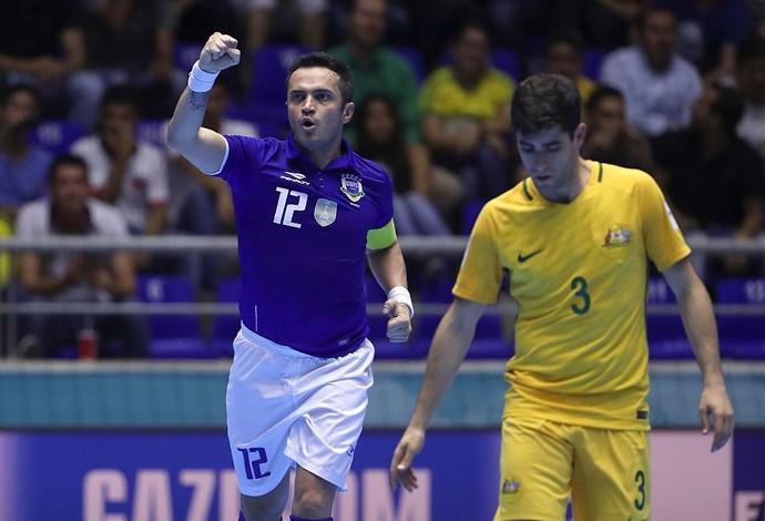Falcão ajudou a seleção em mais uma vitória (Foto: Divulgação/Fifa)