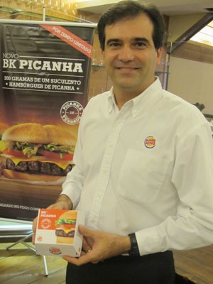 Iuri Miranda, presidente da  do Burger King do Brasil (Foto: Darlan Alvarenga/G1)
