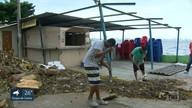 Mais de cem horas depois de temporal, moradores ainda sofrem as consequências da chuva