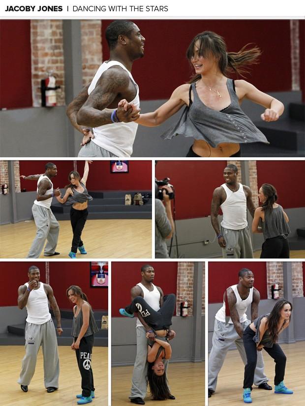 Jacoby Jones dancing with the stars (Foto: Reprodução / ABC / Craig Sjodin)