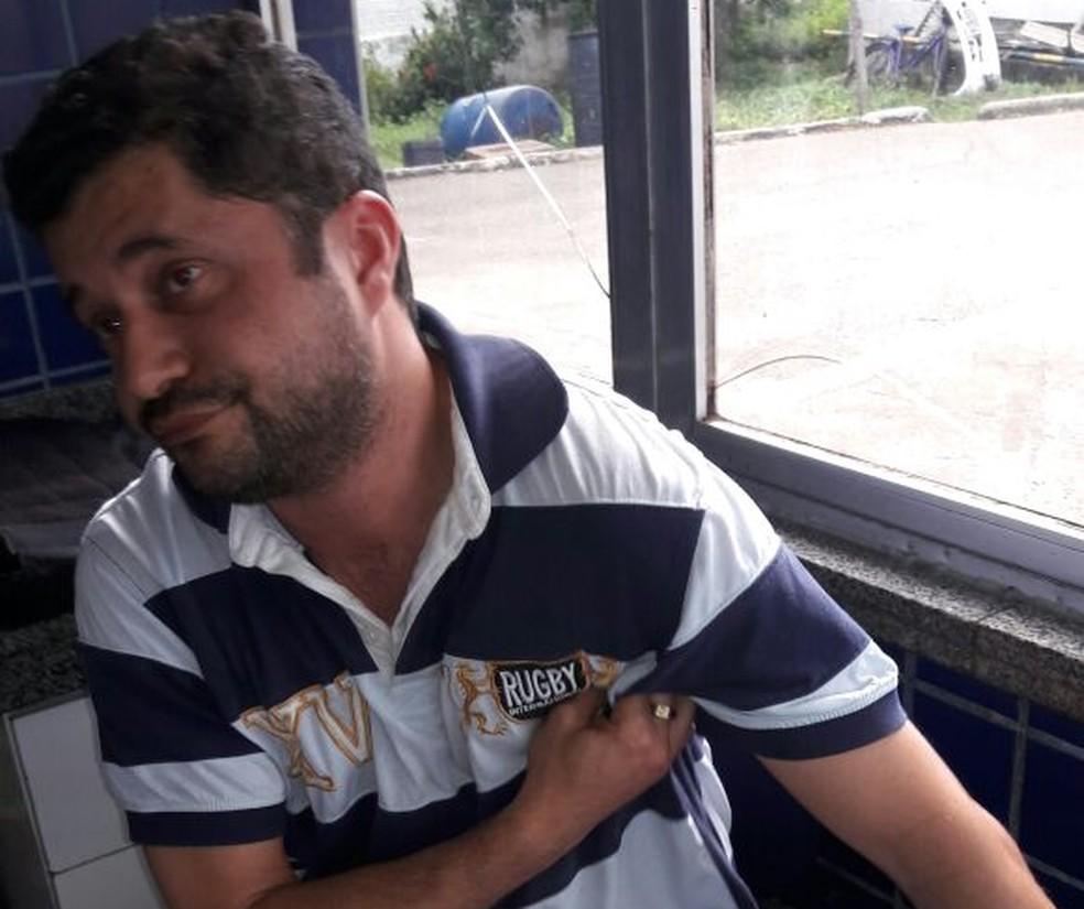 Procurado pela polícia do RN, Gilson foi preso neste domingo (4) no Ceará (Foto: Divulgação/ Polícia Civil )