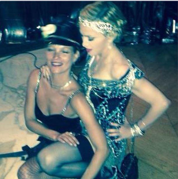 Kate Moss e Madonna (Foto: Reprodução/Instagram)