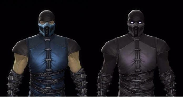 sub zero original mortal kombat characters