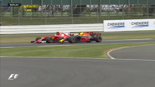 Verstappen rechaça críticas de Vettel e diz que não leva o alemão a sério