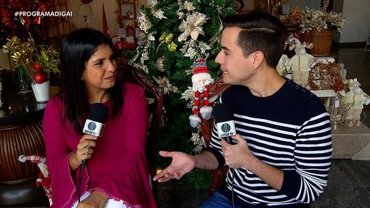 Em clima natalino, 'Digaí' mostra ações beneficentes em Natal